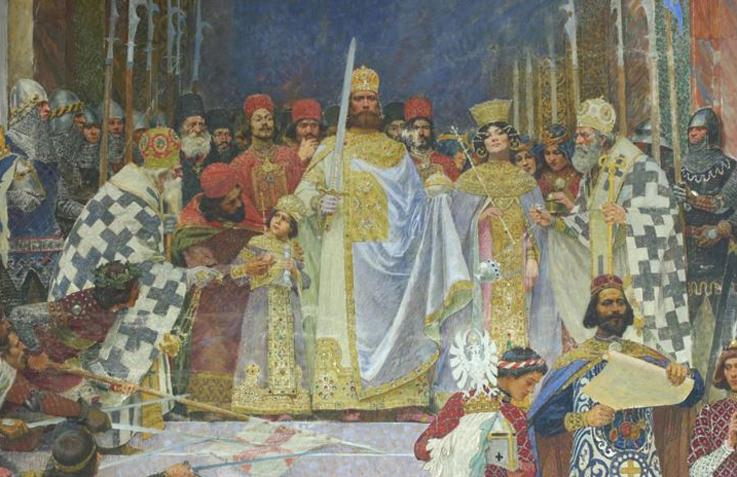 Pavel_Paja_Jovanovic_-_Krunisanje_Cara_Dusana,_1900._detalj.jpg