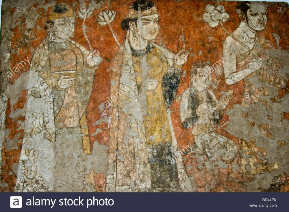 frescoes-from-ancient-sogdian-penjikent-at-the-national-museum-of-BD44EK.jpg